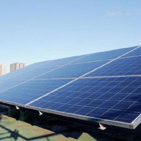 「ソーラーパネル充電よるオフィスでの停電対策 」のサムネイル画像