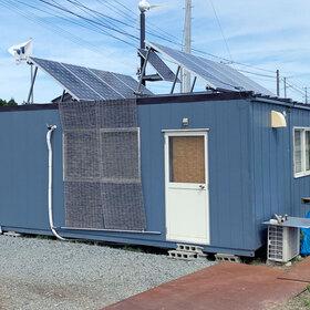 「ソーラーパネルとの連携による仮設事務所の節電対策」のサムネイル画像